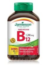 JAMIESON VITAMÍN B12 METYLKOBALAMÍN 1200 μg