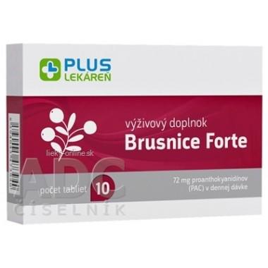 PLUS LEKÁREŇ Brusnice Forte