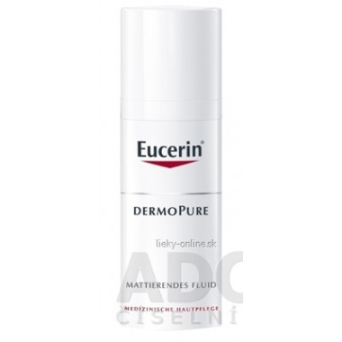 Eucerin DERMOPURE zmatňujúca emulzia