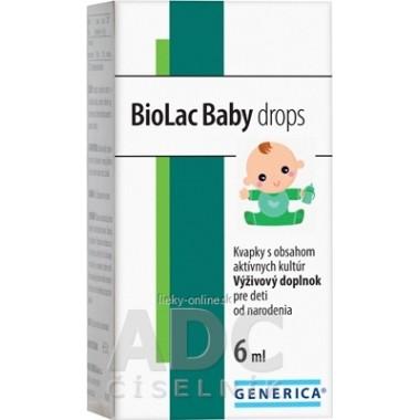 GENERICA BioLac Baby drops