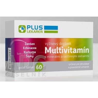 PLUS LEKÁREŇ Multivitamín s minerálmi