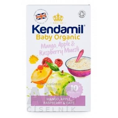 KENDAMIL Organic, BIO Ovsená kaša s ovocím
