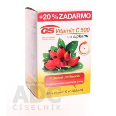 GS Vitamín C 500 so šípkami 2016