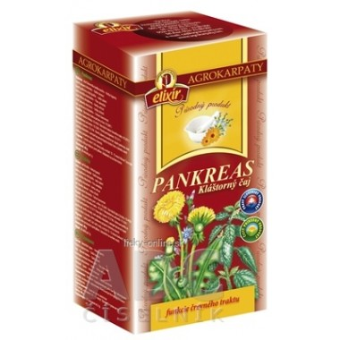 AGROKARPATY PANKREAS Kláštorný čaj