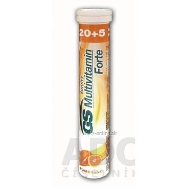 GS Multivitamín Forte šumivý pomaranč