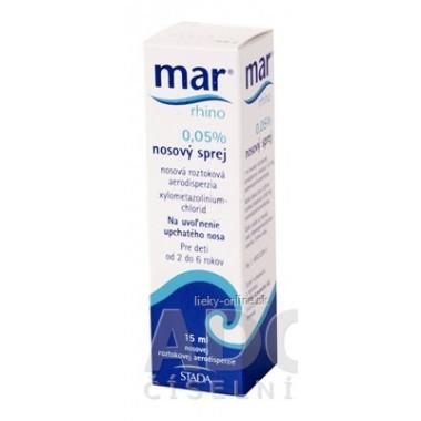 MAR rhino 0,05% nosový sprej
