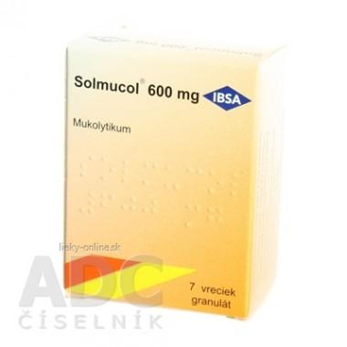 Solmucol 600 mg