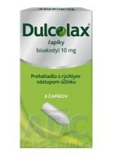 Dulcolax čapíky