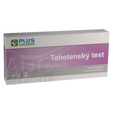 PLUS LEKÁREŇ Tehotenský test