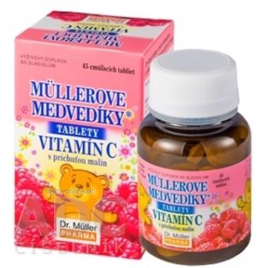 MÜLLEROVE medvedíky - vitamín C