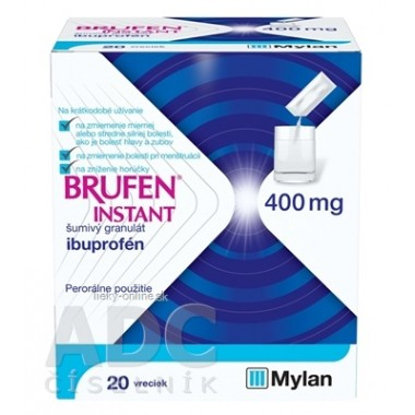 BRUFEN INSTANT 400 mg šumivý granulát