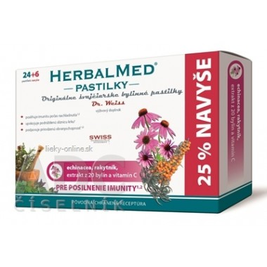 HERBALMED PASTILKY pre posilnenie imunity - Dr.W.