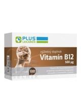 PLUS LEKÁREŇ Vitamín B12 500 µg