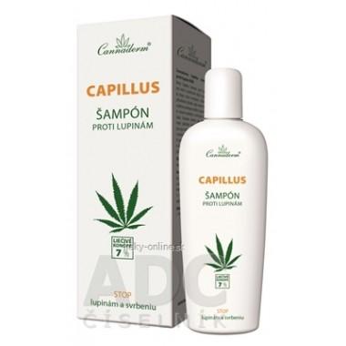 Cannaderm CAPILLUS - šampón proti lupinám NEW