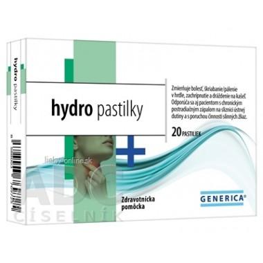 GENERICA hydro pastilky
