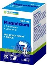 PLUS LEKÁREŇ Magnézium 400 mg+B komplex+vitamín C