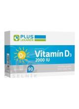 PLUS LEKÁREŇ Vitamín D3 2000 I.U.