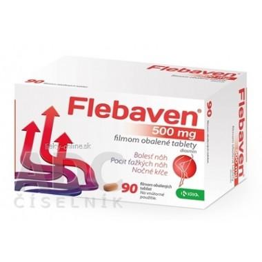 Flebaven 500 mg filmom obalené tablety