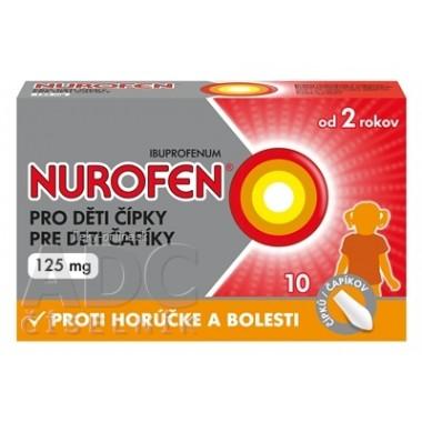 NUROFEN pre deti čapíky 125 mg