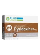 PLUS LEKÁREŇ Pyridoxín 20 mg (vitamín B6)