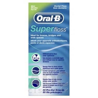 Oral-B Super floss Mint ZUBNÁ NIŤ