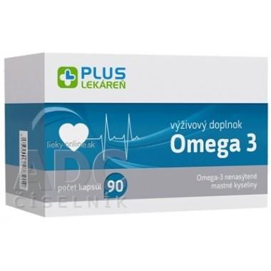 PLUS LEKÁREŇ Omega 3