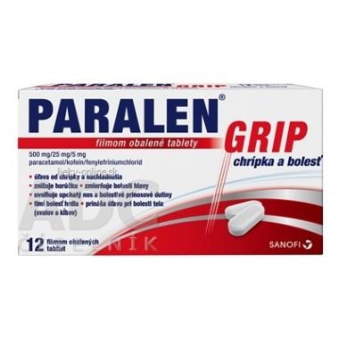PARALEN GRIP chrípka a bolesť