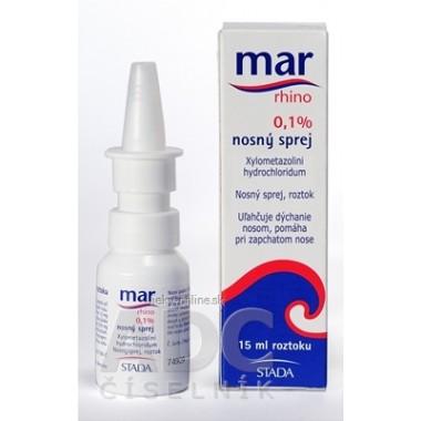 MAR rhino 0,1% nosový sprej