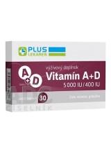 PLUS LEKÁREŇ Vitamín A+D 5000 IU/400 IU