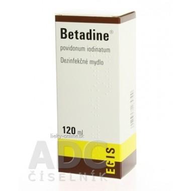 Betadine dezinfekčné mydlo 75 mg/ml