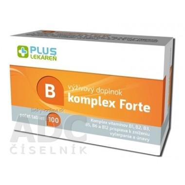PLUS LEKÁREŇ B komplex Forte