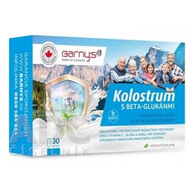 Barny's KOLOSTRUM s beta-glukánmi + darček