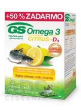 GS Omega 3 CITRUS + D3