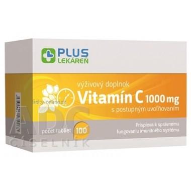 PLUS LEKÁREŇ Vitamín C 1000 mg
