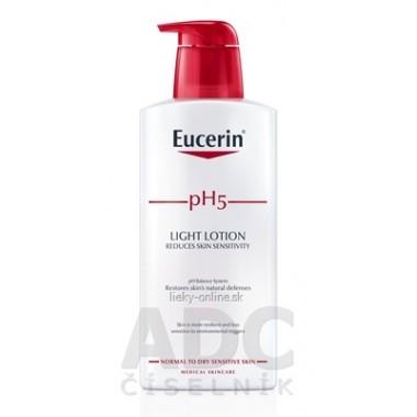 Eucerin pH5 Telové mlieko - ľahká textúra