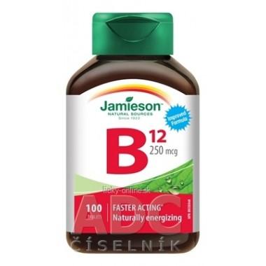 JAMIESON VITAMÍN B12 METYLKOBALAMÍN 250 µg