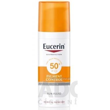 Eucerin SUN PIGMENT CONTROL SPF50+ Emulzia na tvár