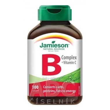 JAMIESON B-KOMPLEX S VITAMÍNOM C