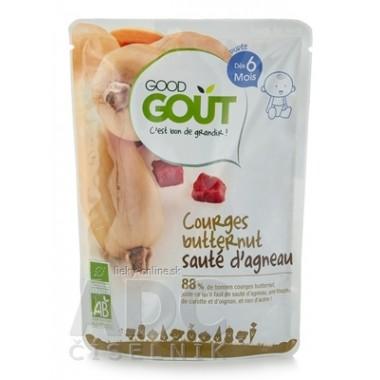 Good Gout BIO Maslová tekvica s jahňacím mäsom