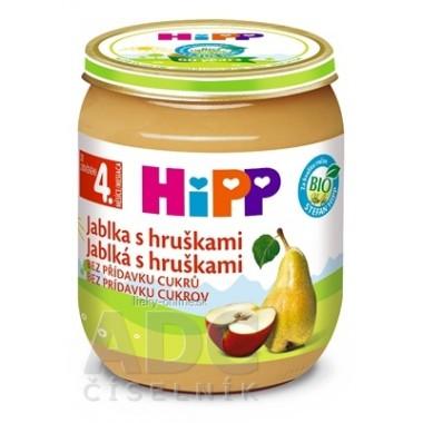 HiPP Príkrm ovocný Jablká s hruškami