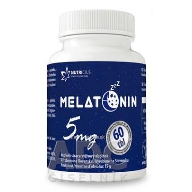 NUTRICIUS Melatonín 5 mg