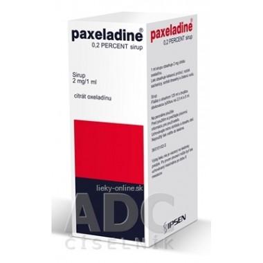 Paxeladine 0,2 percent sirup