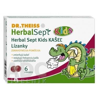 Dr.Theiss HerbalSept Kids KAŠEĽ