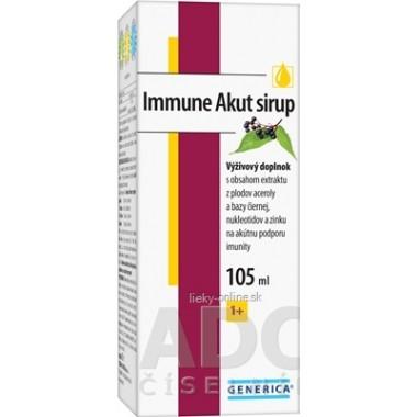 GENERICA Immune Akut sirup