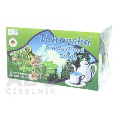 FYTO Tatranská priedušková zmes Bylinný čaj