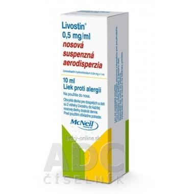 Livostin 0,5 mg/ ml