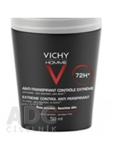 VICHY HOMME DEO ROLL-ON PROTI POTENIU DUO 72H