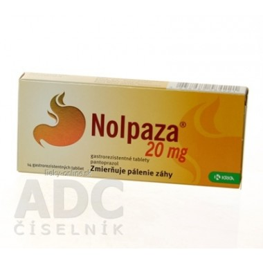 Nolpaza 20 mg