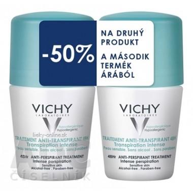 VICHY DEO ANTI-TRANSPIRANT 48H Intense Duo