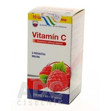Dobré z SK Vitamín C 200 mg príchuť MALINA
